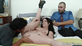 Do The Wife - Spoken for Women Get Licked Cleave to to Their Hubbies Compilation