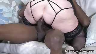 Lacey Starr Takes It Up The Ass - GrannyLovesBlack