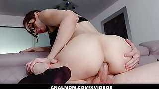 Slutty Teacher Lilian Stone Gives Online Anal Preparation