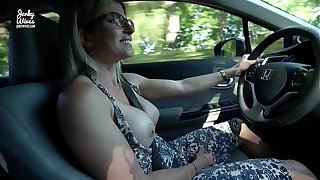 Cease operations Vacation with My Step Mom - Defoliate Car Ride and B & B Blowjob - Cory Chase
