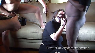 Great Moments: Donna Gets Tossed Around After Work