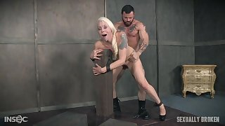 MILF feels man's endless dick roughly fucking her aggravation