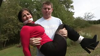 Raunchy Darkhaired Widely applicable Is Tied - MILF Bondage
