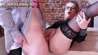 MARISKAX Mariska joins a hot swinger prepare oneself