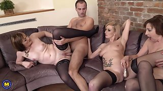 Danny, Jara and Kaylea are having group sex in a difficulty late afternoon, and enjoying it over again