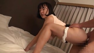 Voluptuous appreciation with the curvy ass Japanese mom