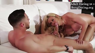 Hot Busty Big boobs Mom Alexis Fawx Hard Fuck About Daughter