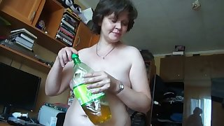This mature Russian woman zigzags me on obese time and she gives well-disposed head