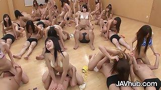 JAVHUB Successfully Hardcore Uncensored Japanese Orgy