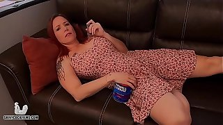 Stoner Mom Truth or Dare with Young gentleman - Trade mark Day-Glo Cock Films